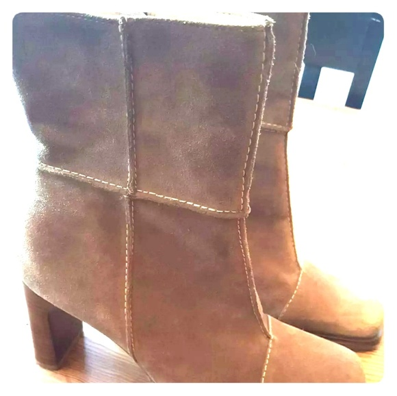 Hokus Pokus Shoes - NEW Womens Bohemian Patchwork Suede Boots